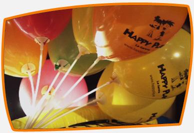 Cumpleaños, fiestas personalizadas