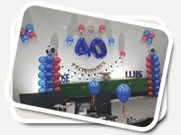 Cumpleaños, todo montado para tu fiesta