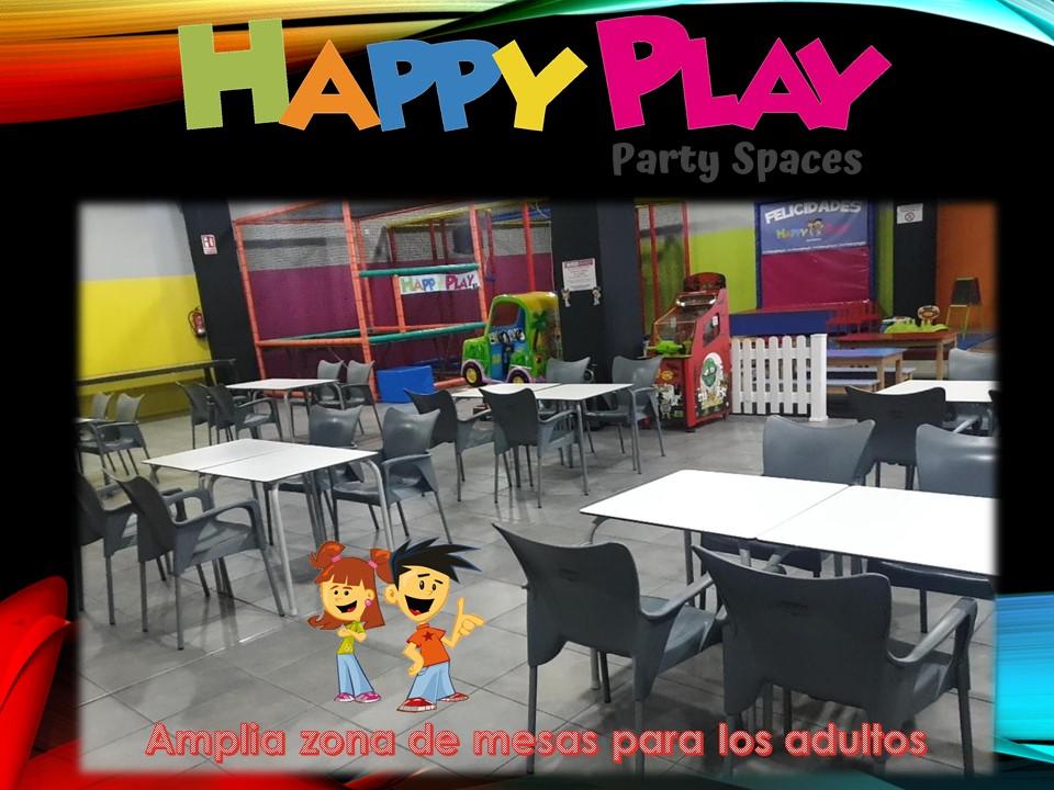 Alquiler sala Happy Play en Alcalá de Henares